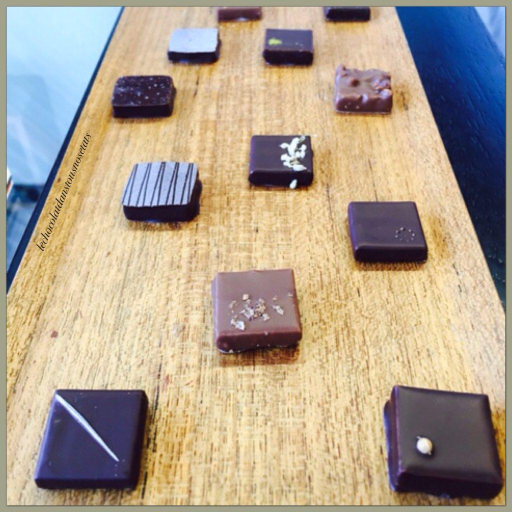 Notre dégustation de chocolats, EDWART Chocolatiers