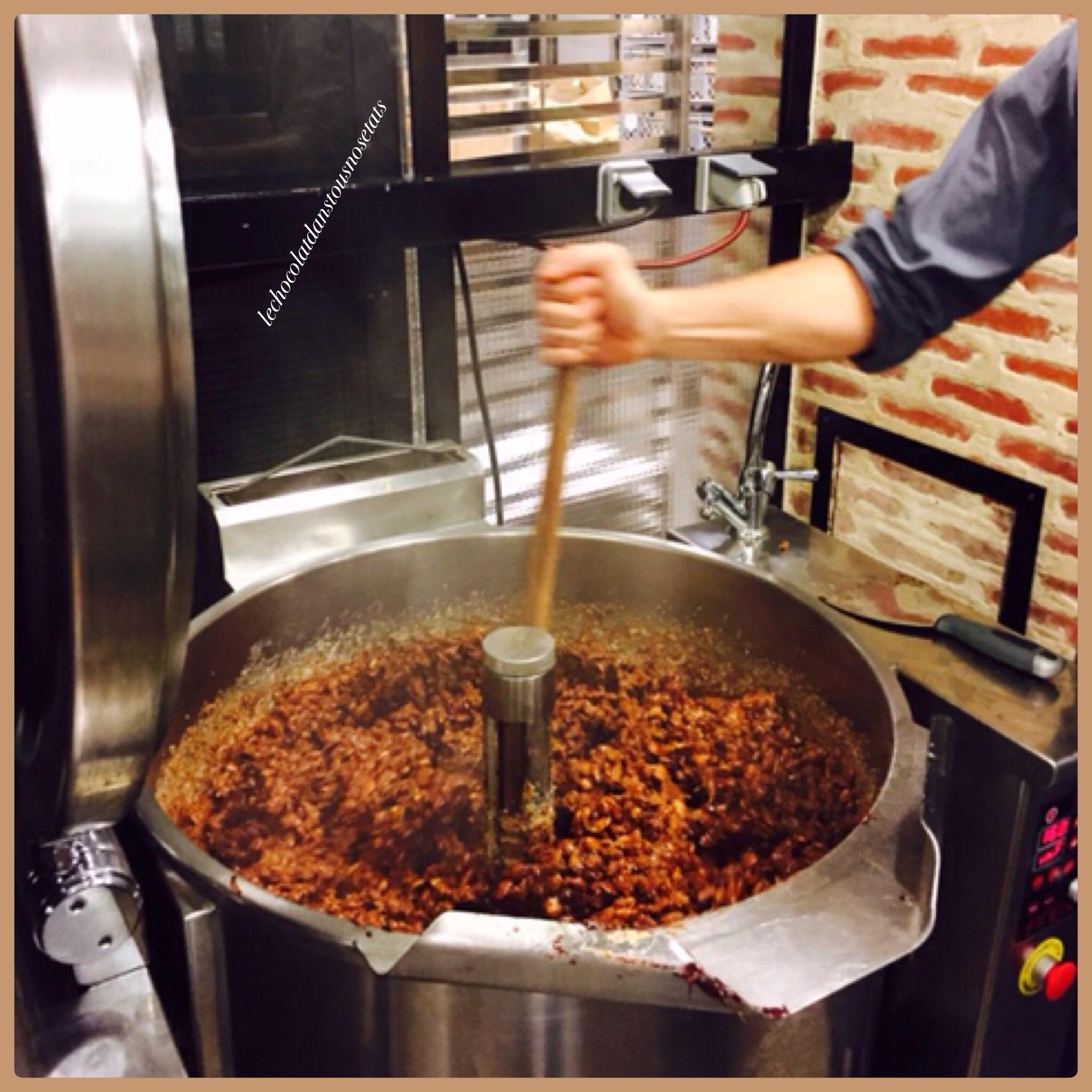 Les étapes de fabrication du chocolat, Manufacture DUCASSE ...