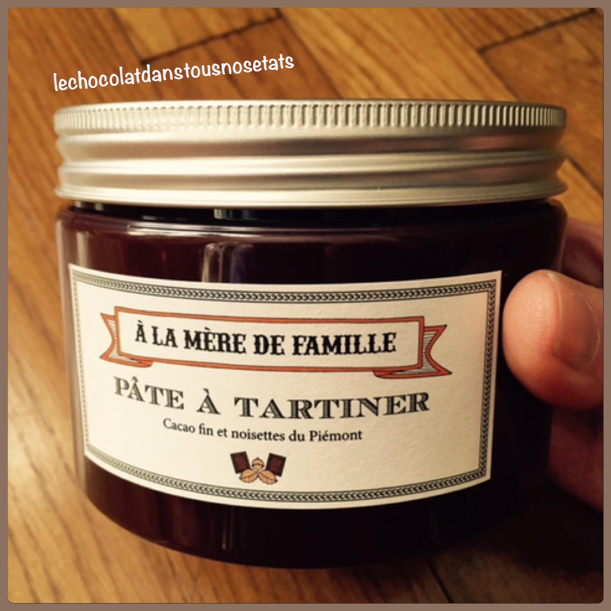 La pâte à tartiner, A la mère de famille, Paris