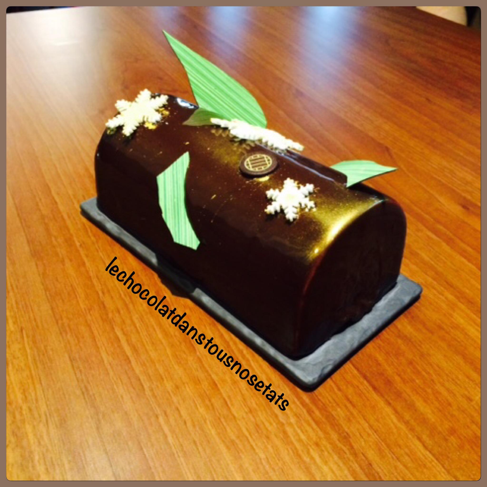 L'Intense Chocolat, la bûche du réveillon de Noël, Damien VIDAL et sa brigade
