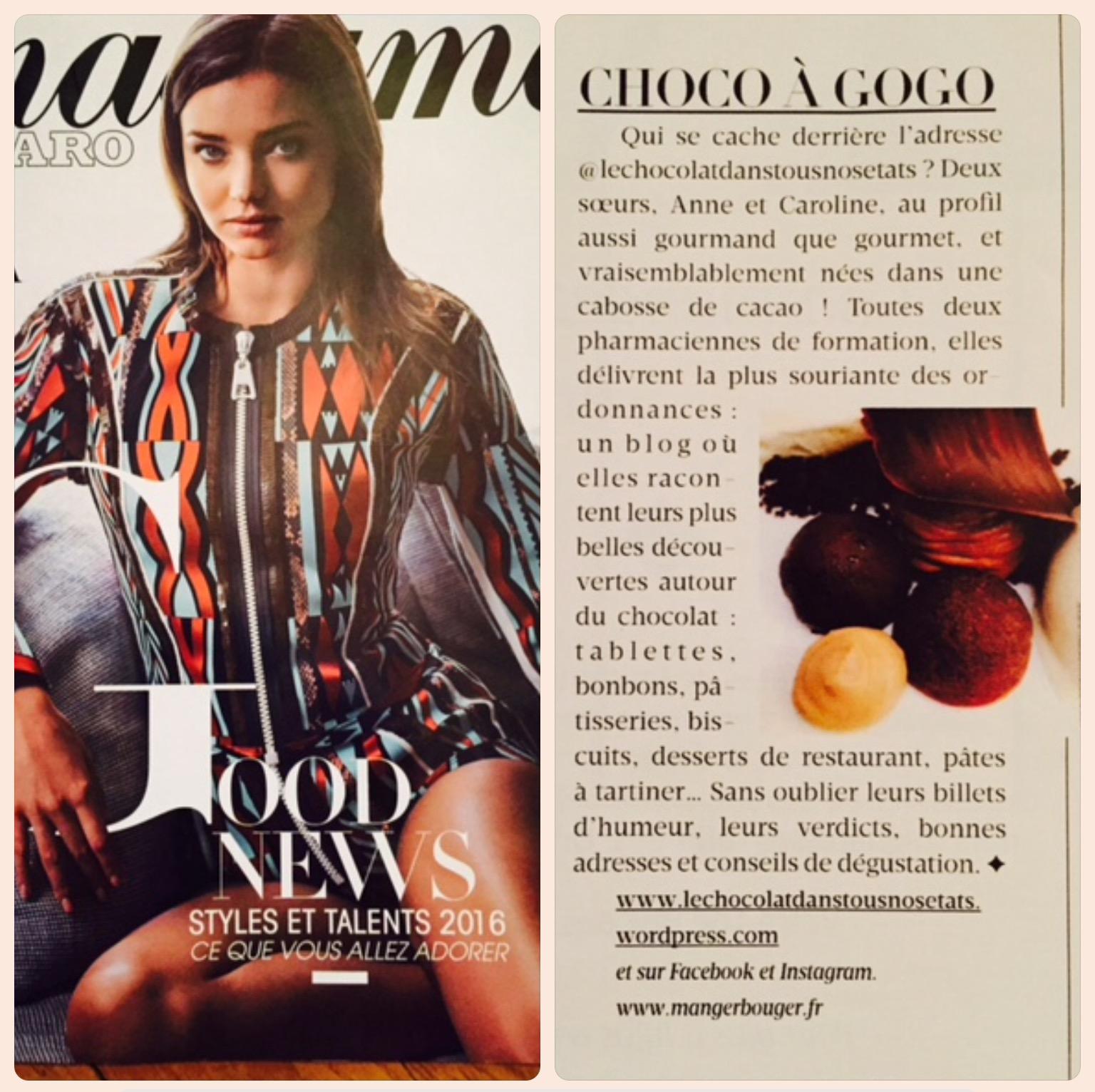 Madame Figaro 24-12-2015
