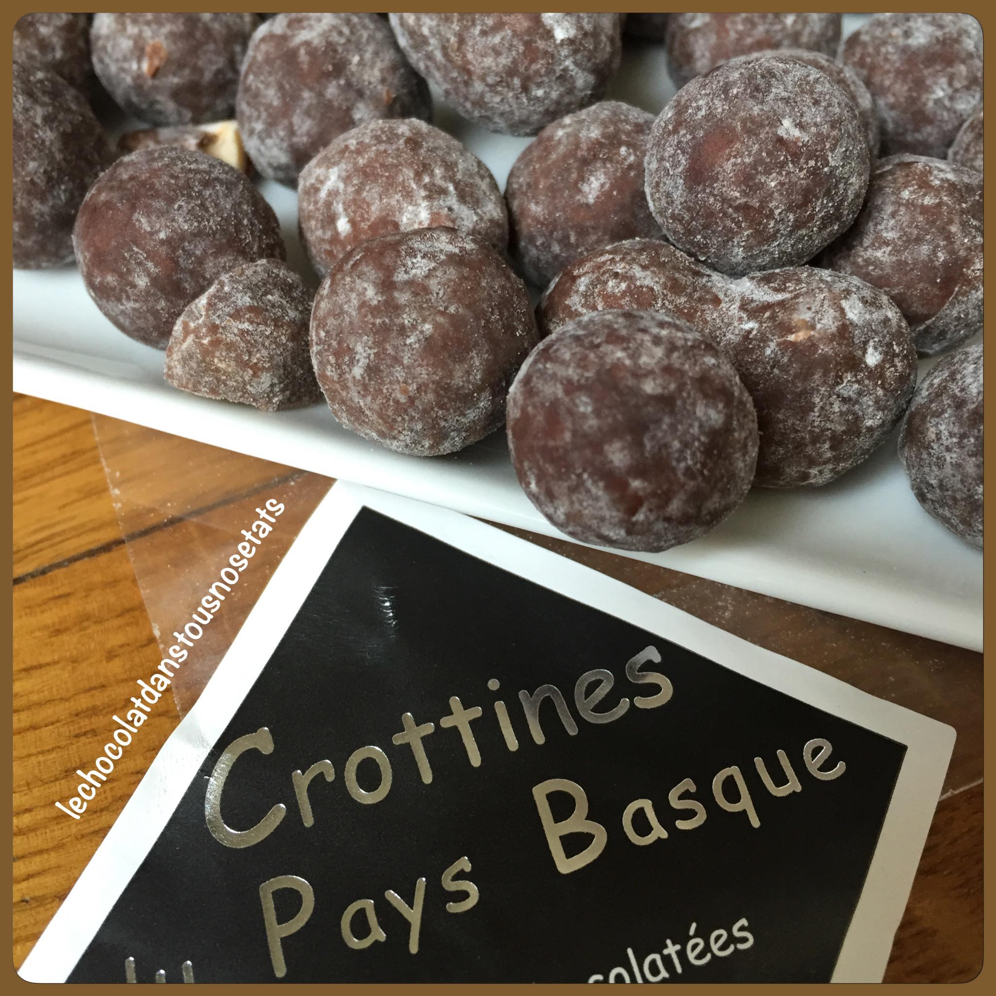 Les crottines du Pays Basque, Le Comptoir du Praliné, Saint-Etienne-de-Baigorry