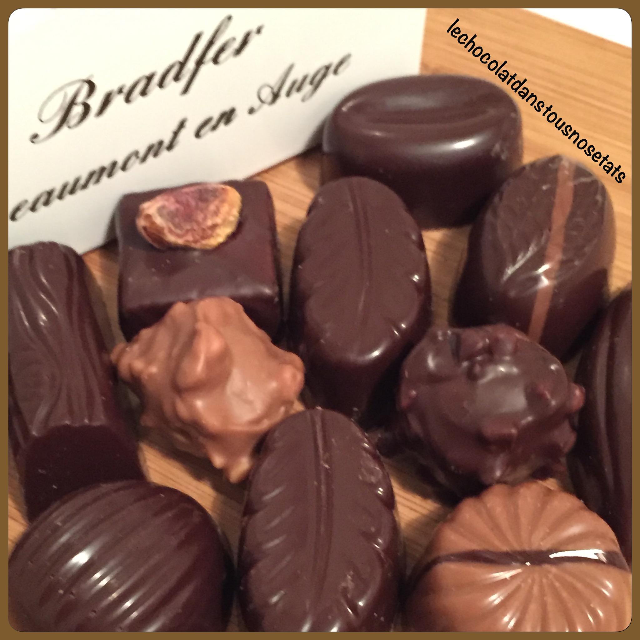 Les chocolats de la Maison BRADFER, Beaumont-en-Auge