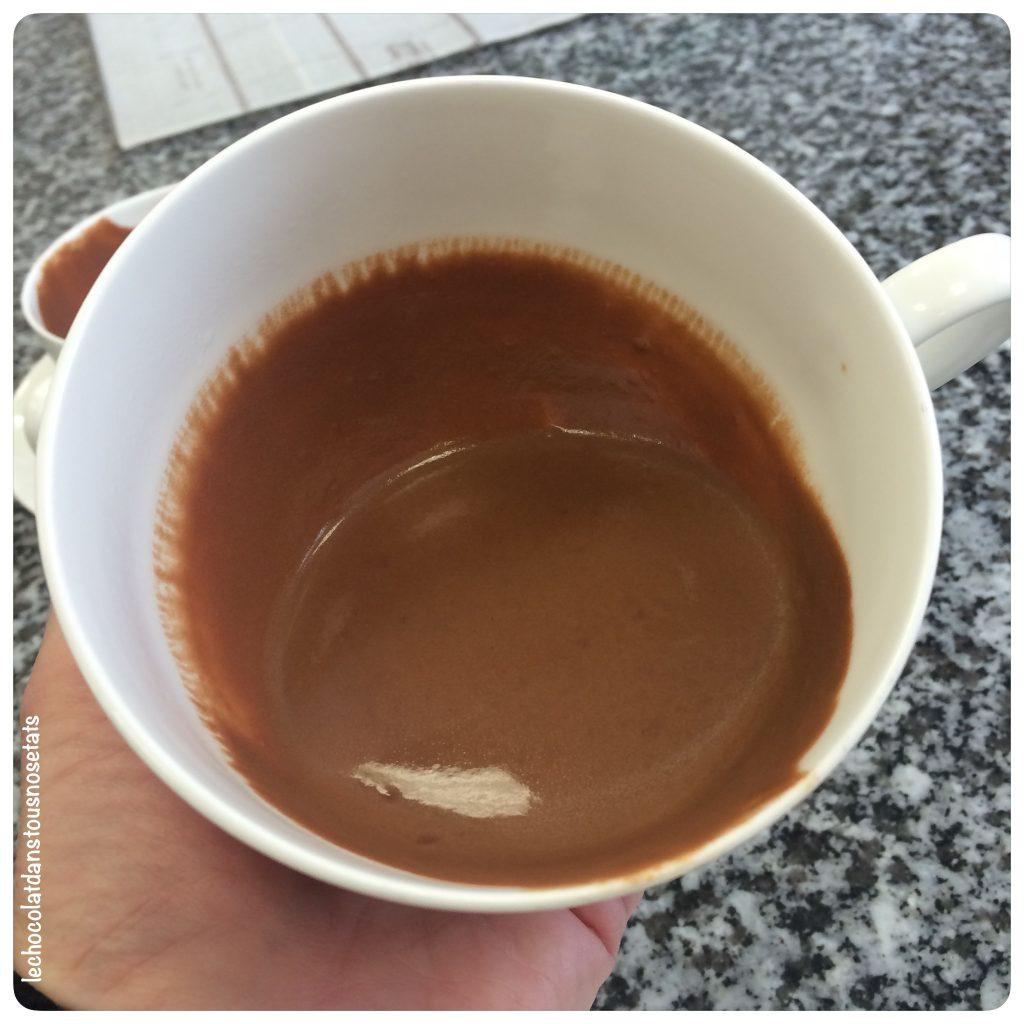 Chocolat chaud, Jacques Genin