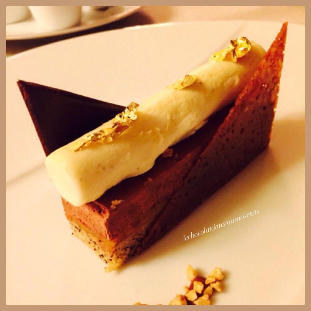 Finger chocolat-banane, Francis PEAN, Le Grand Hotel de Calarossa
