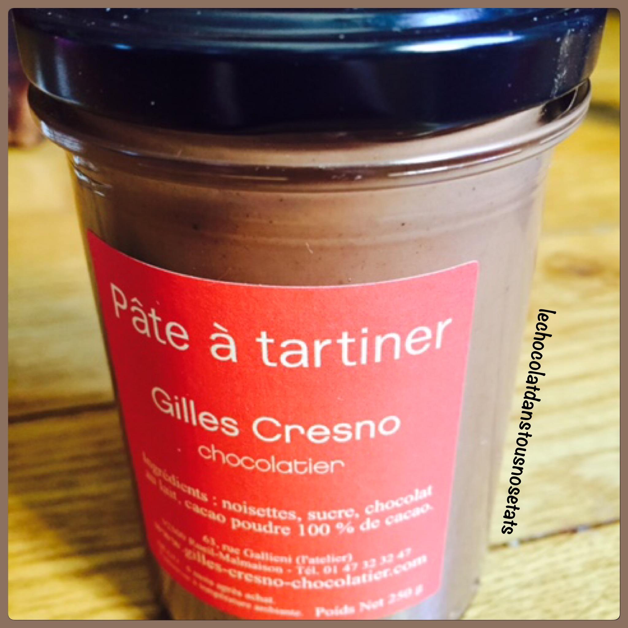 Pâte à tartiner, Gilles Cresno, Rueil-Malmaison