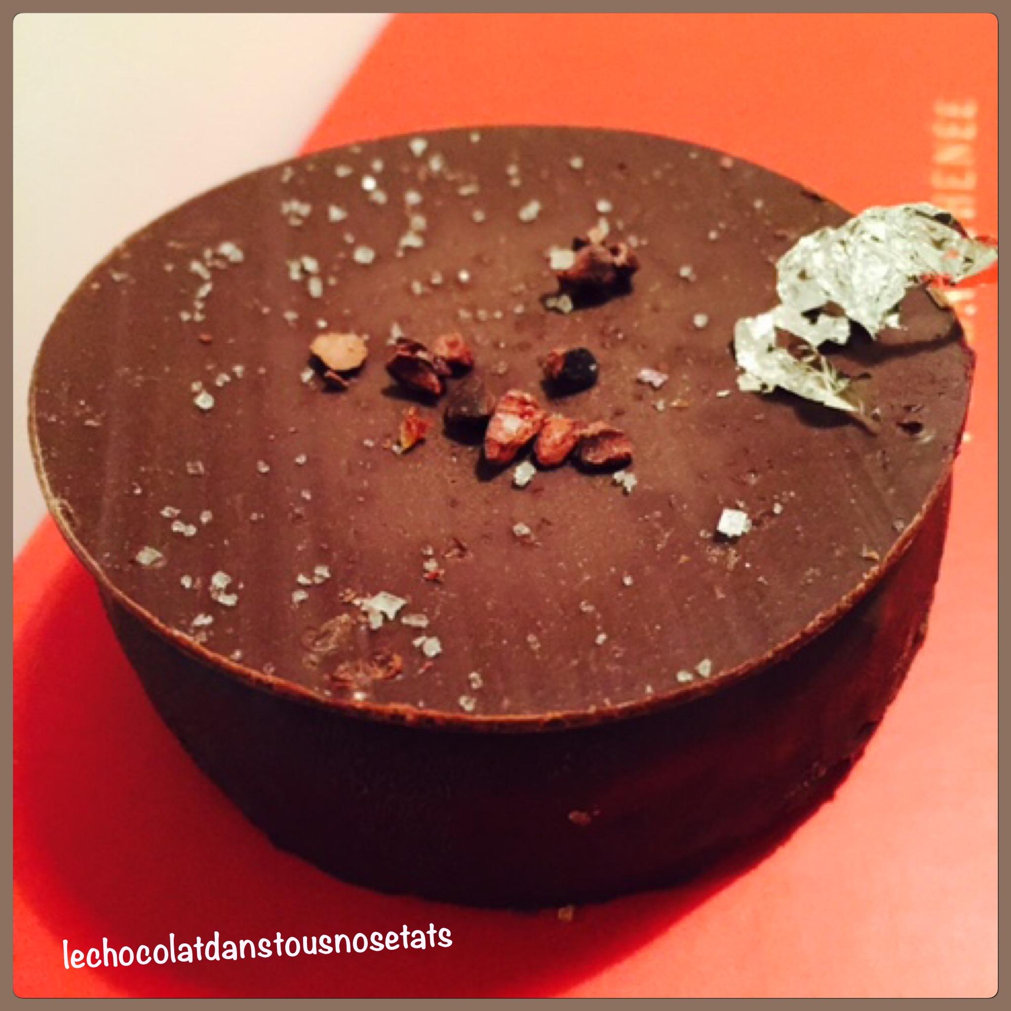 La tarte au chocolat, le Plaza Athénée, Alexandre DUFEU