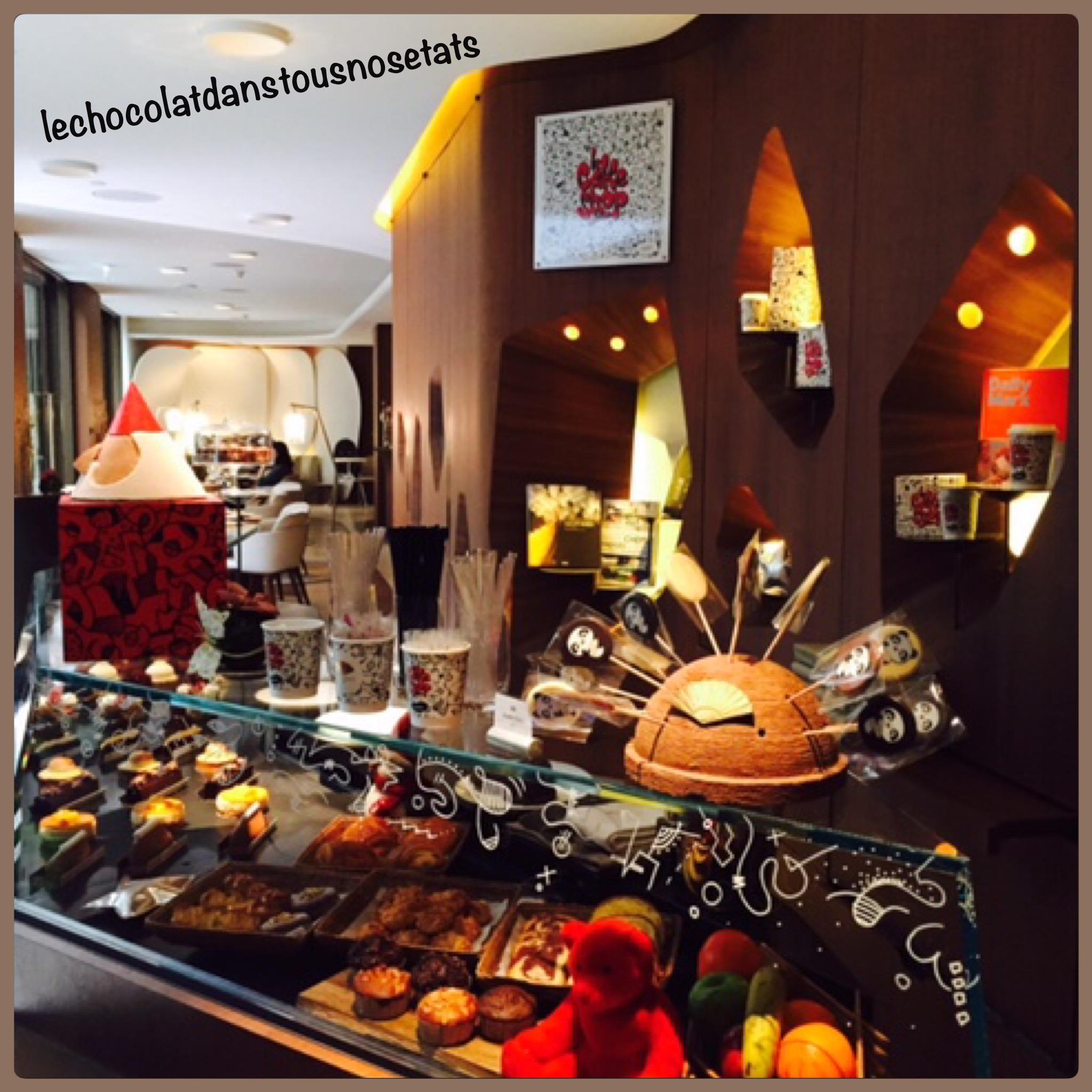 Le comptoir de pâtisseries, Le Mandarin Oriental
