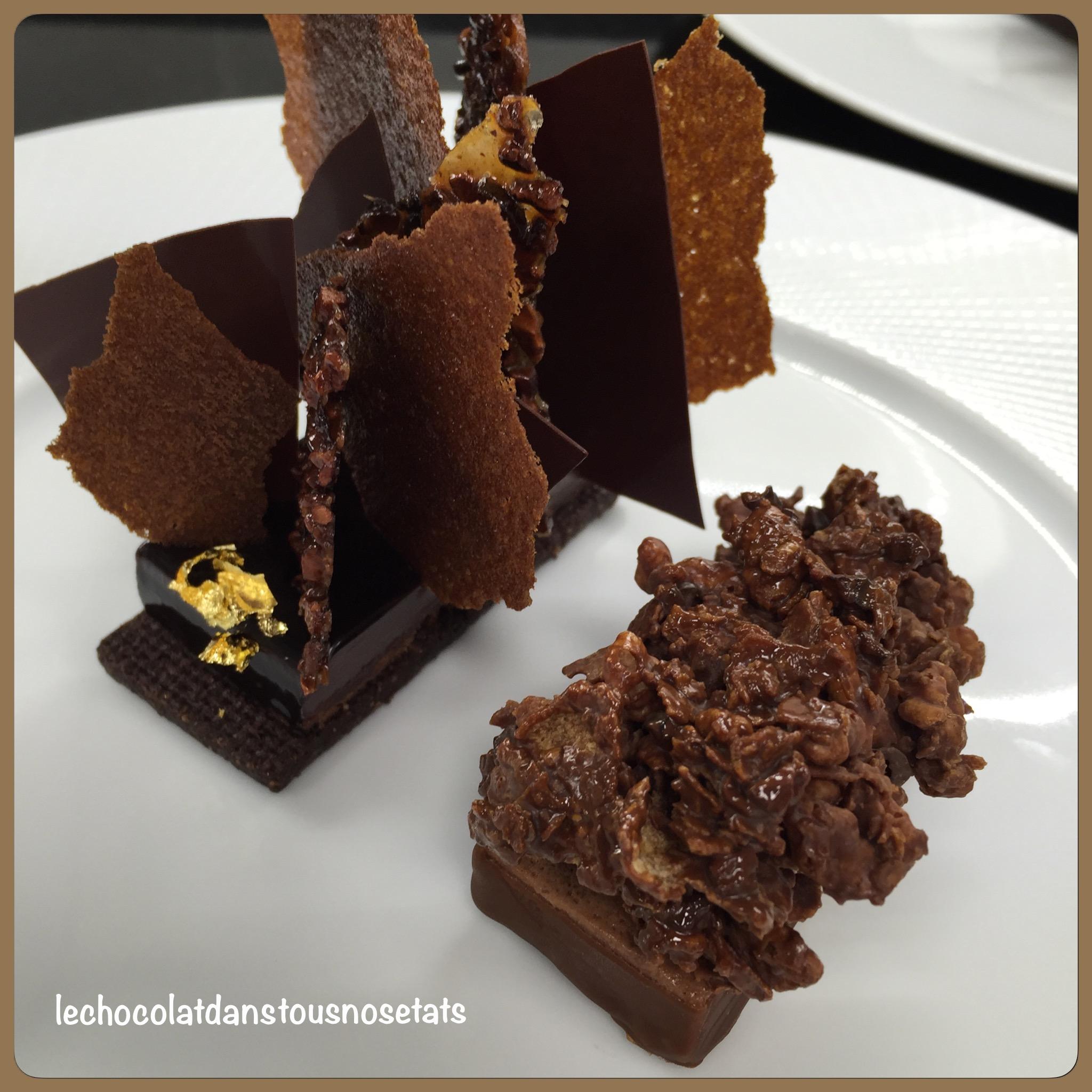 Préférence Les desserts au chocolat de Desty Brami, restaurant gastronomique  SB48