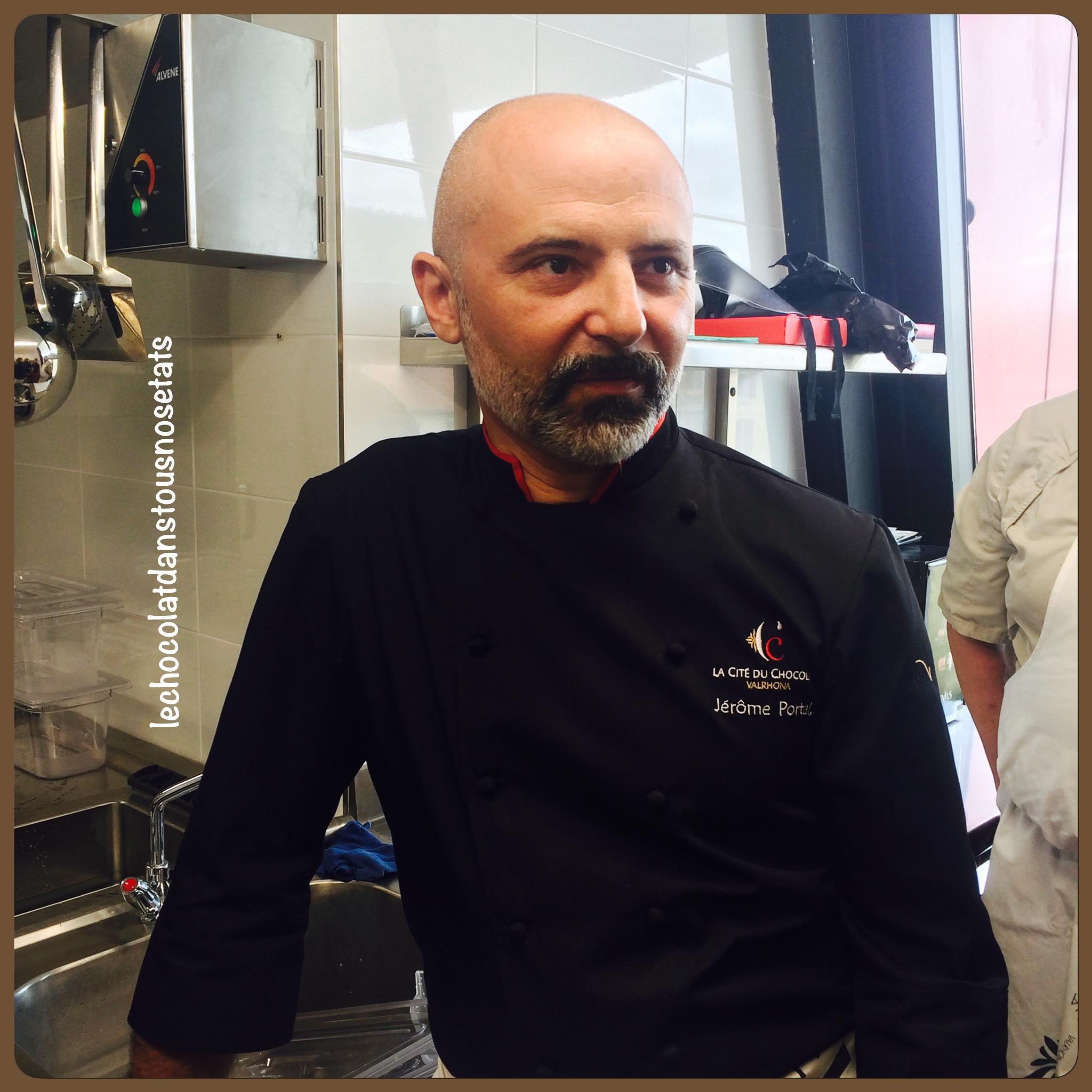 Jérôme Portal, Chef du comptoir Porcelana, recettes de Frédéric Bau