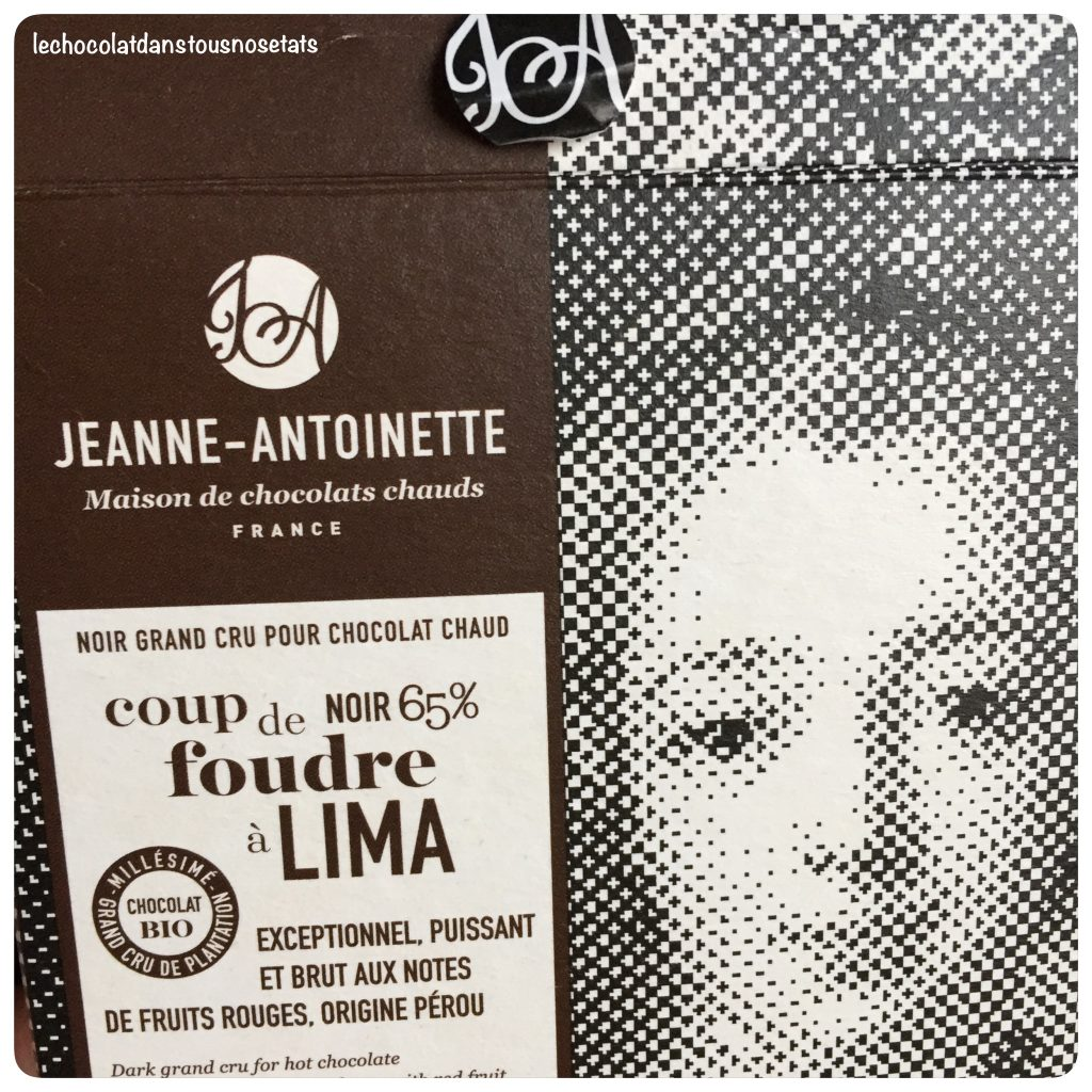 Chococlat chaud, jeanne-Antoinette