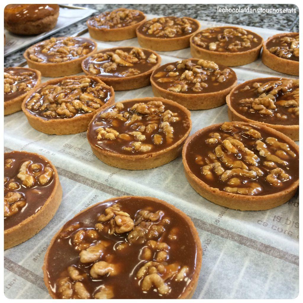 Tarte aux noix Jacques Genin