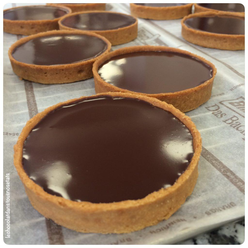 Tarte au chocolat, Jacques Genin