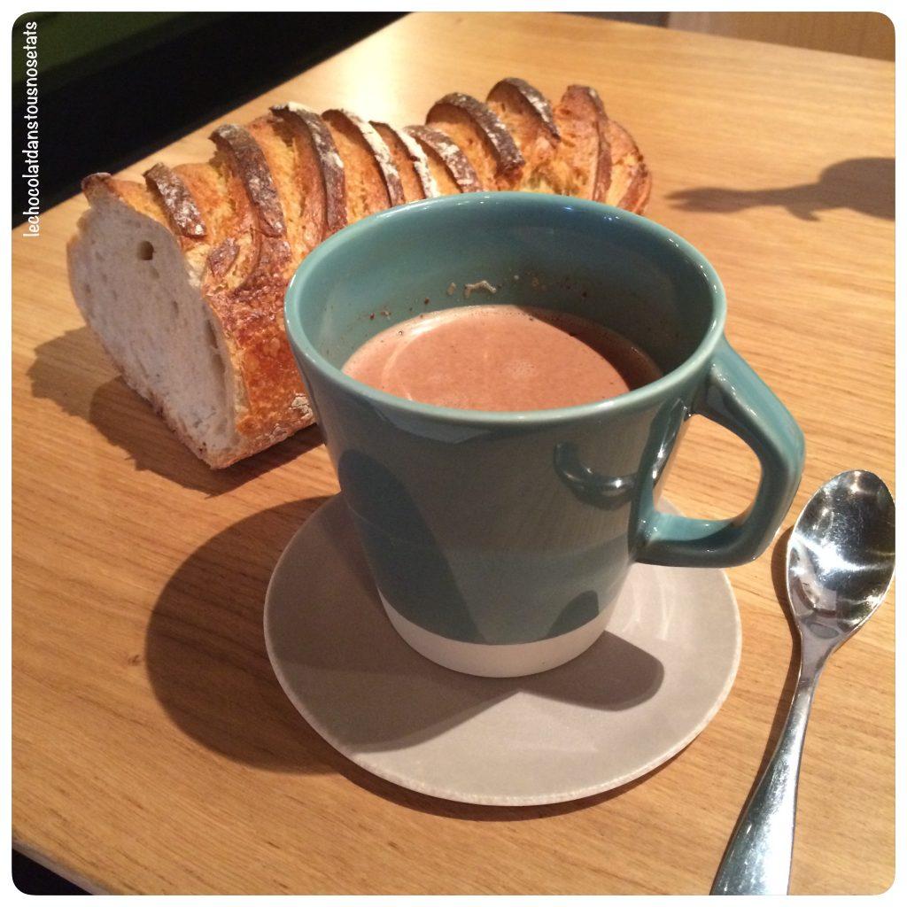 Chocolat chaud au foin du mézenc, François Gagnaire, Anicia Bistrot
