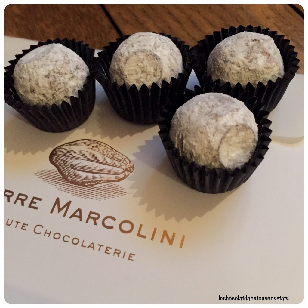 Truffes champagne, Marcolini