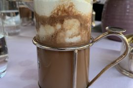 Chocolat chaud, Dominique Costa, Le Peninsula, Paris