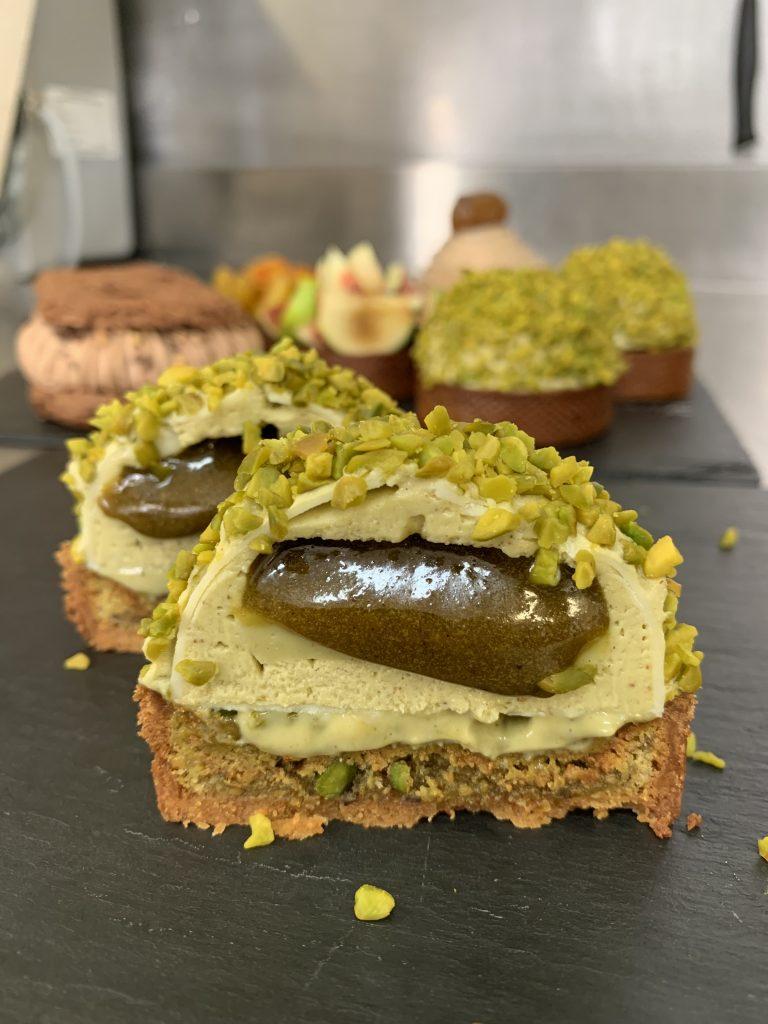 Dessert pistache, Ludovic Fontalirant