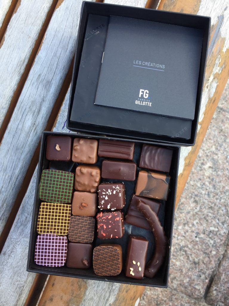 Chocolats, Fabrice Gillotte