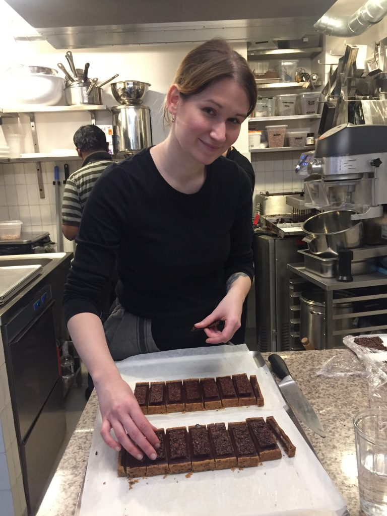 Cécile Lecoeur, Plaq, manufacture de chocolat, Paris