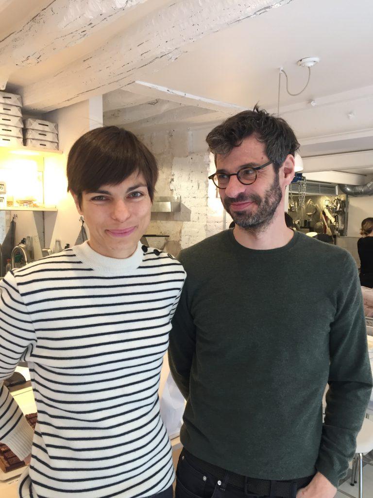 Sandra et Nicolas, Plaq, manufacture de chocolat, Paris