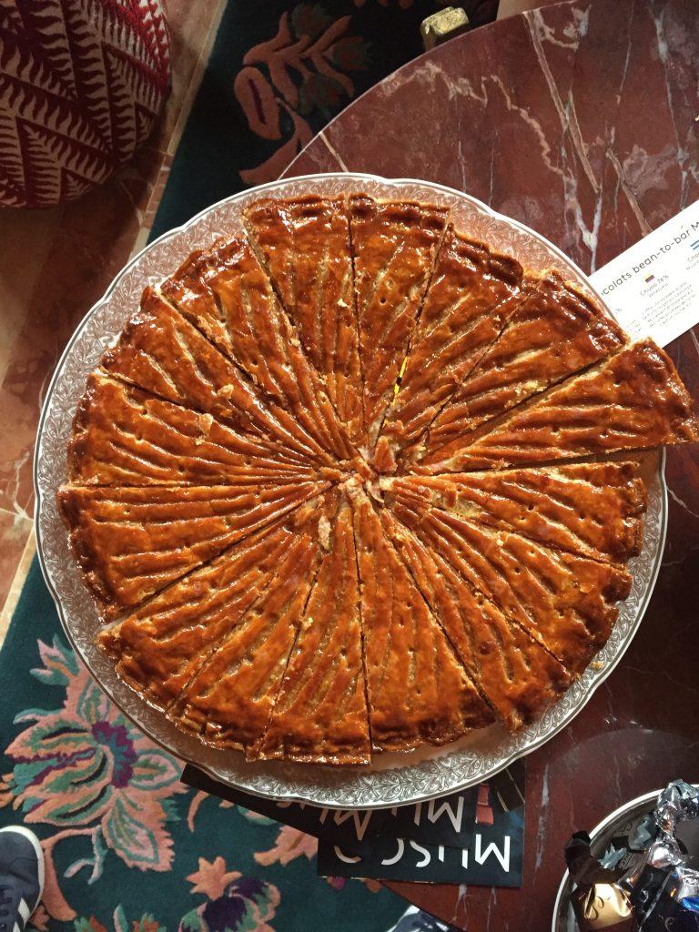 La galette à la praliné rouge, Maison Sève
