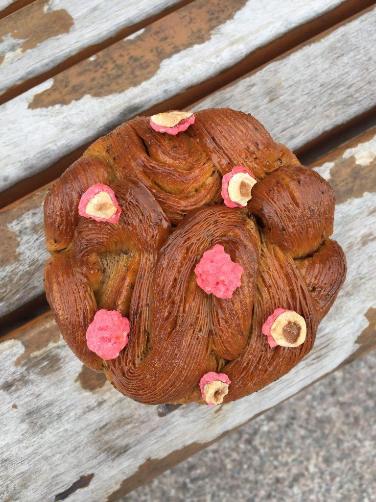 Brioche à la praline rose, Michael Bartocetti