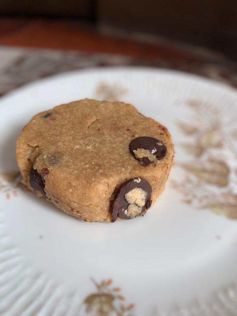 Cookie, beurre de cacahuètes, Lactem, Coffee shop, Paris