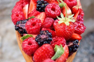 Tarte fruits rouges et menthe, Yannick Begel