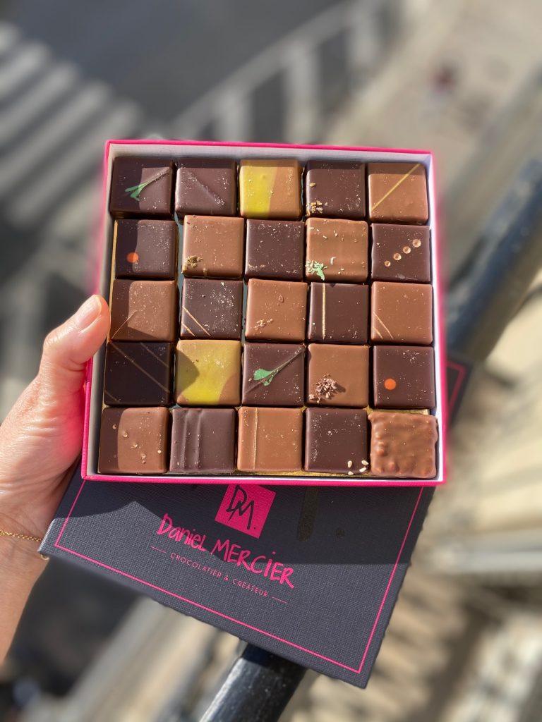 Chocolat, Maison Mercier, Baugy