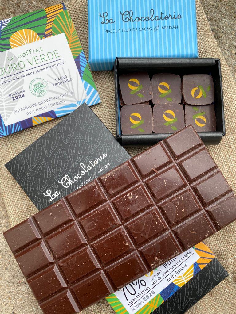 Collection plantation du Brésil, La chocolaterie, Landerneau
